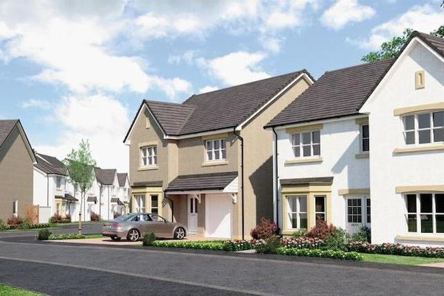 """Image of 4 bedroom Detached house for sale in Brown Crescent Bathgate EH48 at """"Blair"""" at Brown Crescent, Bathgate EH48"""