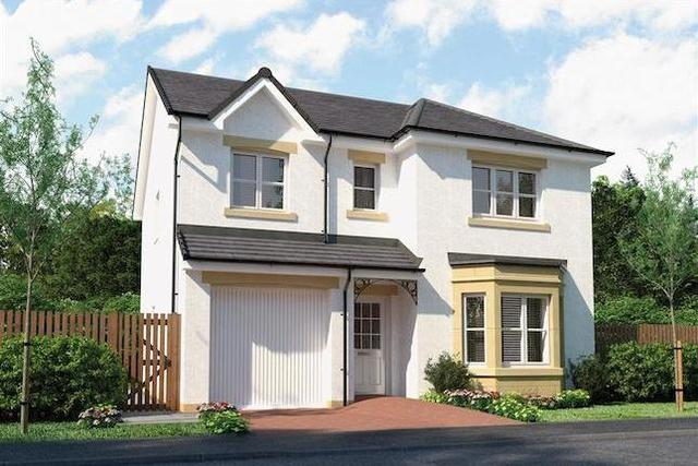 """Image of 4 bedroom Detached house for sale in Brown Crescent Bathgate EH48 at """"Hughes"""" at Brown Crescent, Bathgate EH48"""