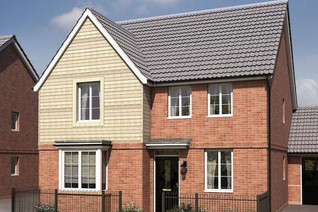 """Image of 4 bedroom  for sale in Old Rydon Ley Exeter EX2 at """"Holden"""" at Old Rydon Ley, Exeter EX2"""