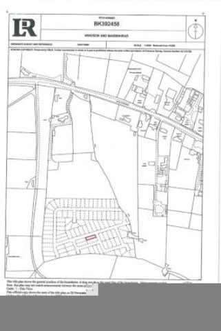 Image of Land for sale in Oakley Green Road Oakley Green Windsor SL4 at Oakley Green Road, Oakley Green, Windsor SL4
