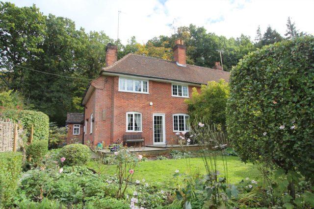 Image of 3 bedroom Semi-Detached house for sale in Hawkridge Hill Frilsham Hermitage Thatcham RG18 at Hawkridge Hill Cottage Frilsham Thatcham, RG18 9XA