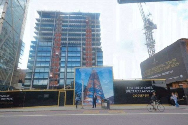 Image of 1 bedroom Flat for sale in Worship Street London EC2A at Worship Street  London, EC2A 2BA
