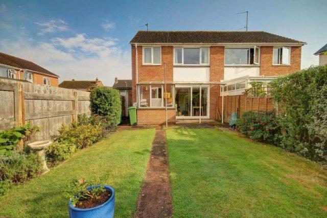 Image of 3 bedroom Semi-Detached house for sale in Blenheim Road Exeter EX2 at Blenheim Road  Exeter, EX2 8SE