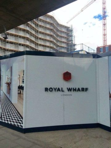 Image of 1 bedroom Flat for sale in North Woolwich Road London E16 at North Woolwich Road Royal Wharf Newham, E16 2BG