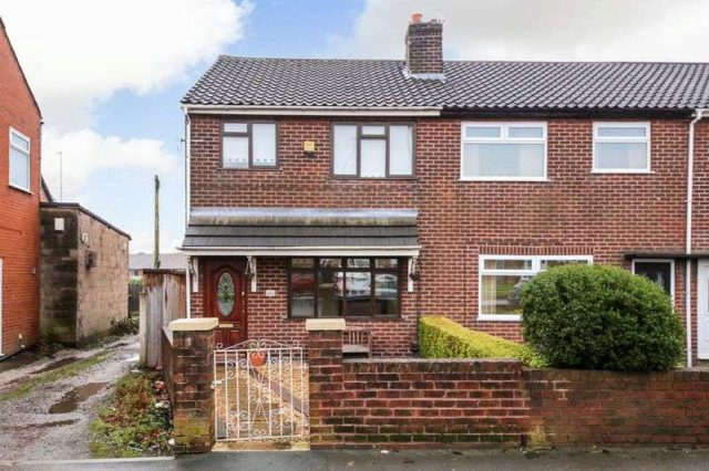 Image of 3 bedroom Terraced house for sale in Warrington Road Wigan WN3 at Warrington Road Goose Green Wigan, WN3 6QF