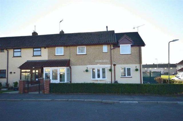 Image of 3 bedroom Terraced house for sale in Court Farm Road Llantarnam Cwmbran NP44 at Court Farm Road Llantarnam Cwmbran, NP44 3BZ