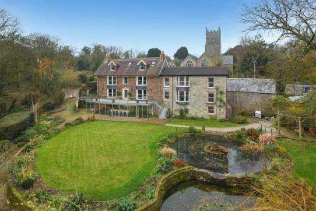 Image of 7 bedroom Detached house for sale in St. Clement Truro TR1 at St Clement Truro St Clement, TR1 1SZ