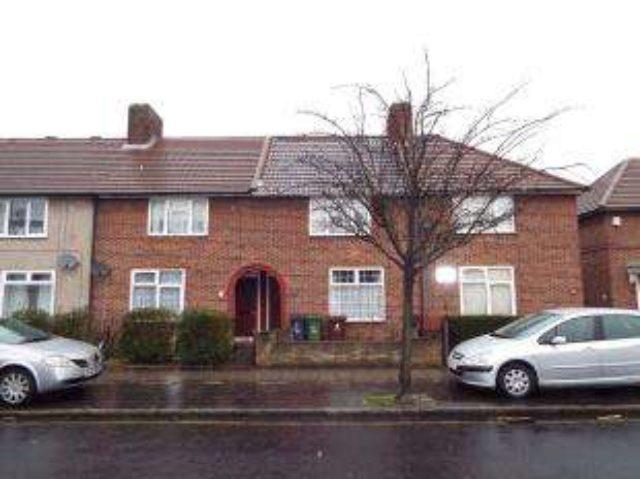 Image of 2 bedroom Terraced house for sale in Hedgemans Road Dagenham RM9 at Dagenham Essex Becontree, RM9 6BU