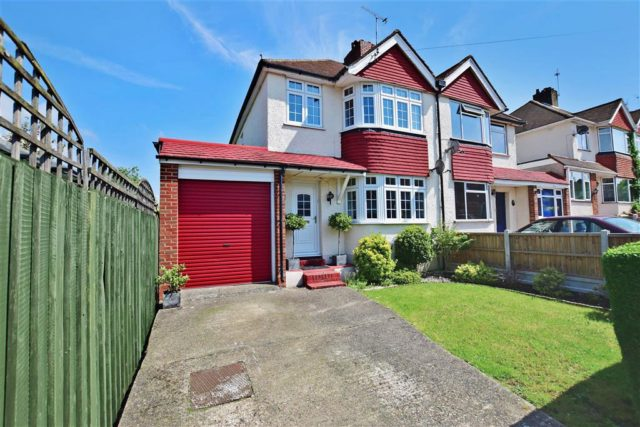 Image of 3 bedroom Semi-Detached house for sale in Willow Avenue Swanley BR8 at Swanley Kent Swanley, BR8 8AT