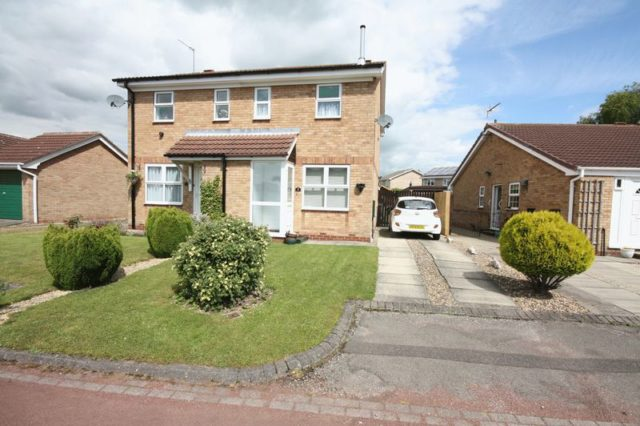 Image of 2 bedroom Semi-Detached house for sale in Clematis Close Driffield YO25 at Clematis Close  Driffield, YO25 6XQ
