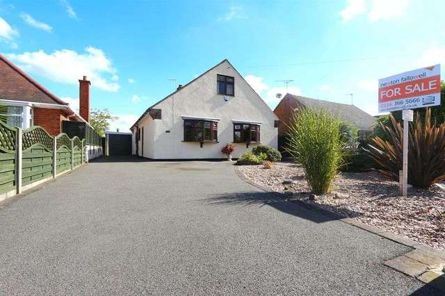 Image of 2 bedroom Detached house for sale in Tournament Road Glenfield Leicester LE3 at Tournament Road Glenfield Leicester, LE3 8LQ