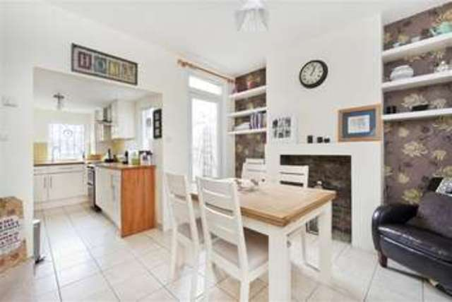2 bedroom terraced house for sale in ladas road london se27 for Terraced house dining room ideas