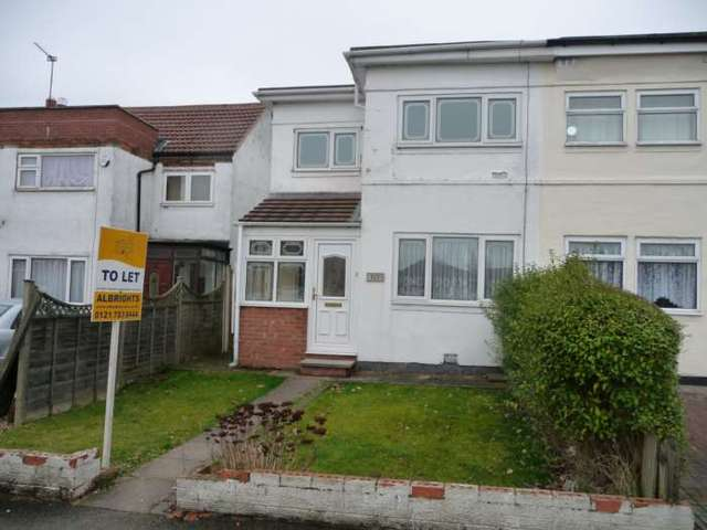 2 Bedroom Semi Detached House To Rent In Common Lane Sheldon Birmingham B26