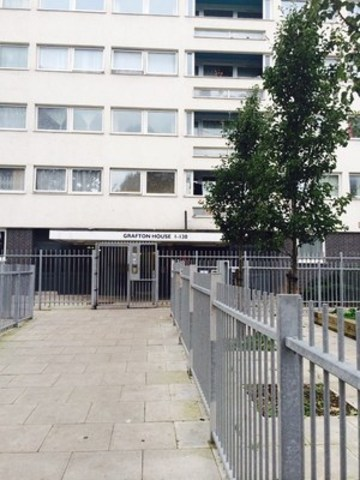 1 bedroom flat to rent in wellington way london e3 for Grafton house