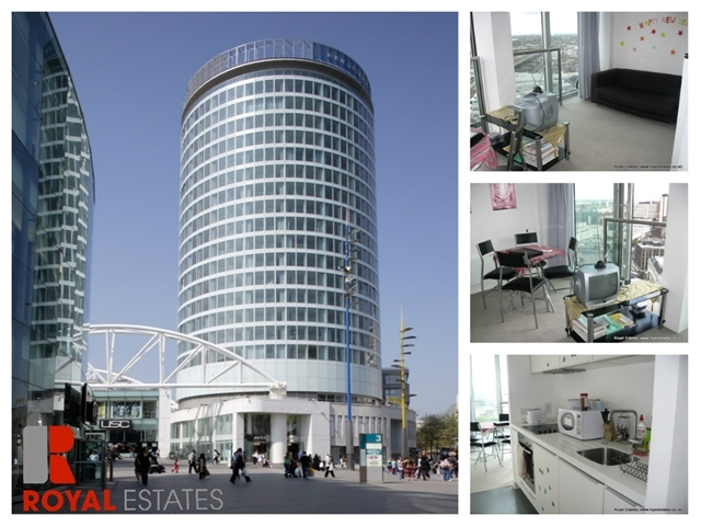 Image Of 1 Bedroom Studio Flat To Rent In New Street Birmingham B2 At The  Rotunda ...