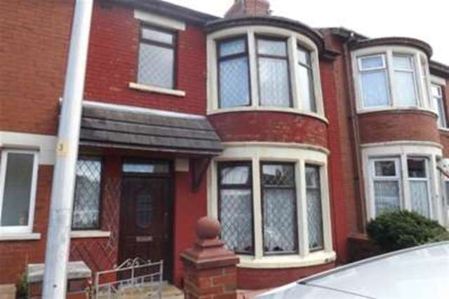 Image of 3 bedroom Terraced house to rent in Wood Park Road Blackpool FY1 at Blackpool, FY1 6QS