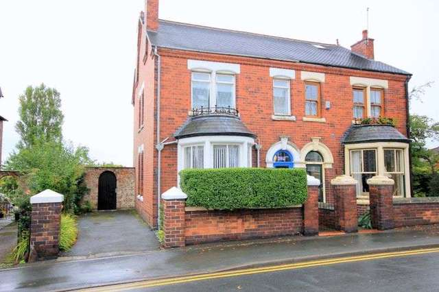3 Bedroom Semi Detached House For Sale In Princes Road Penkhull Stoke On Trent St4
