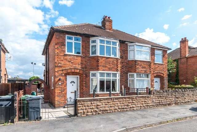Image of 3 bedroom Detached house for sale in Kings Avenue Loughborough LE11 at Loughborough, LE11 5HY