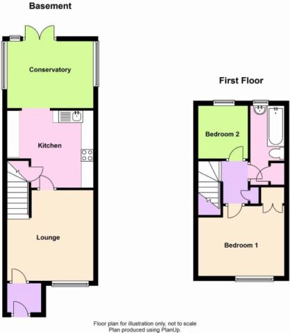 2 Bedroom Terraced House For Sale In Chawston Close Eaton