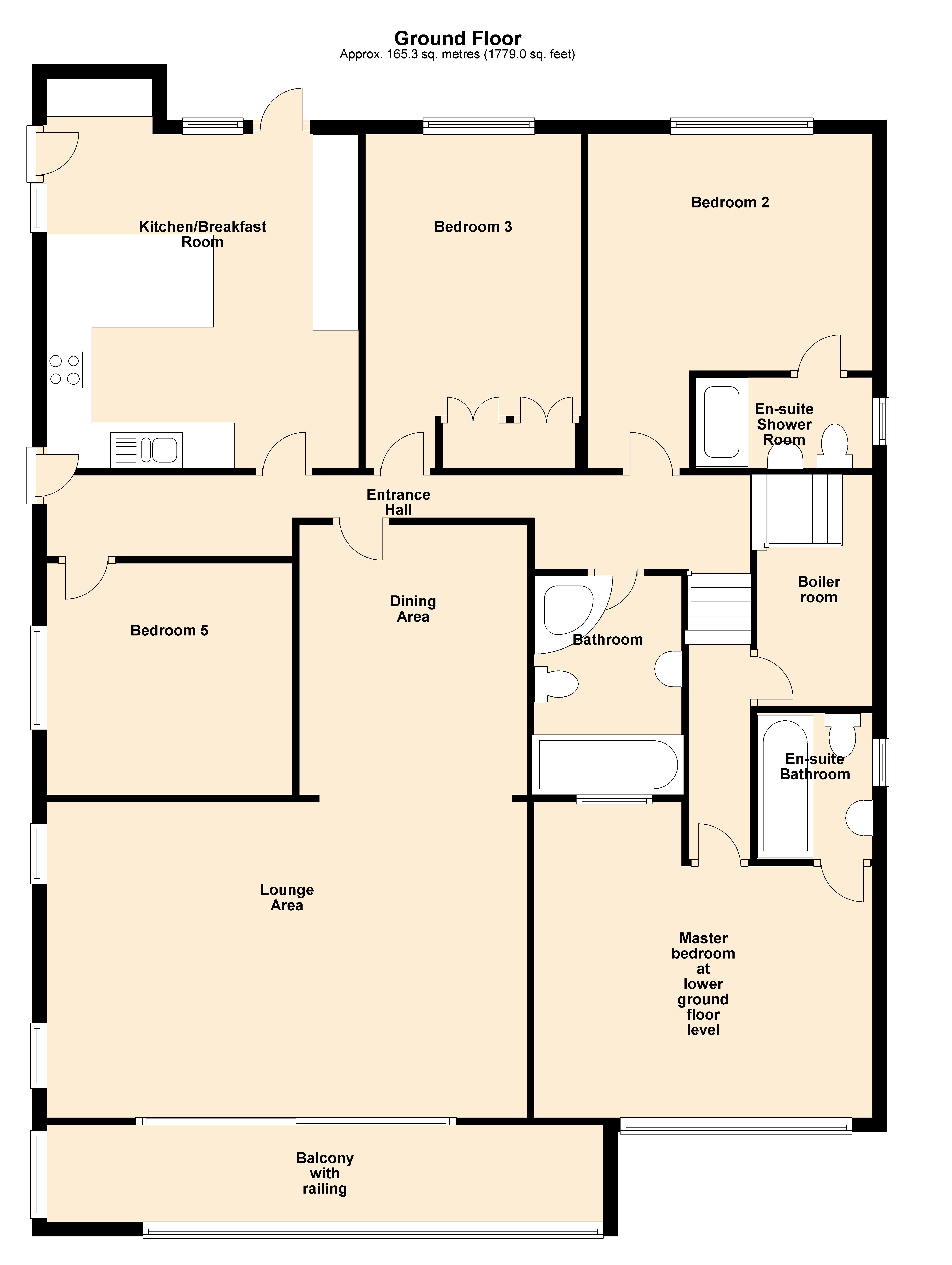 5 Bedroom Detached House For Sale In Crossway Goodrington